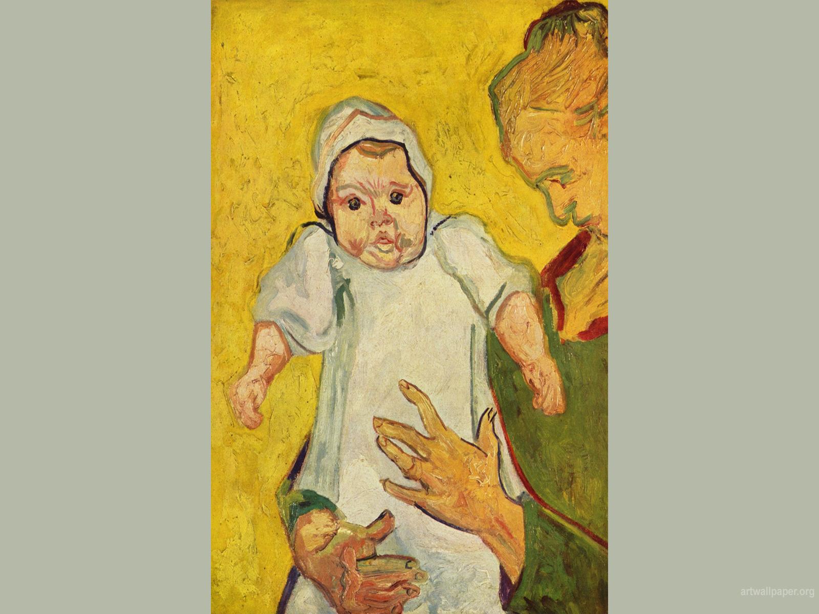 Августин Рулин и ее ребенок