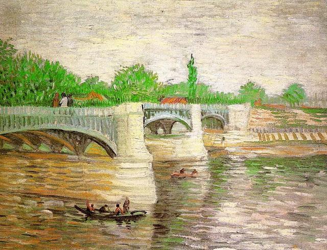 мост через сену 1887