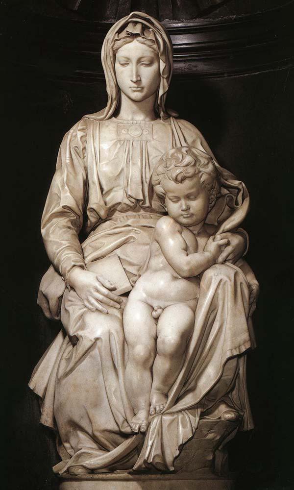 скульптура-мадонна-Брюгге