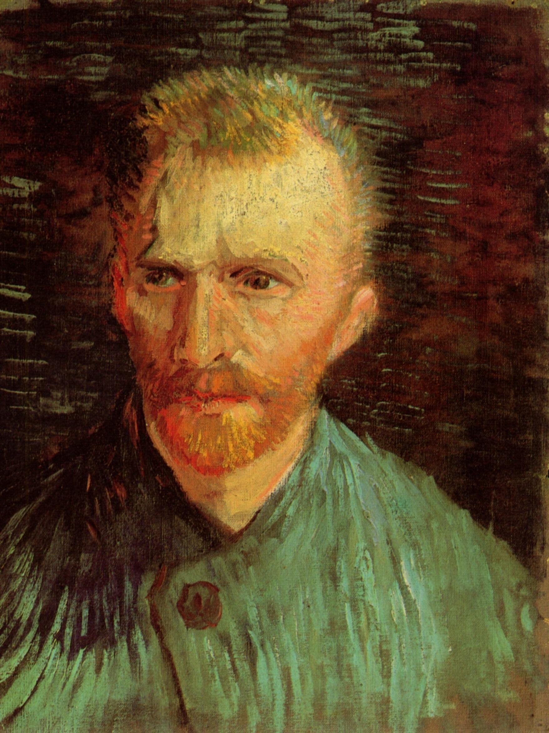 Ван Гог Автопортреты